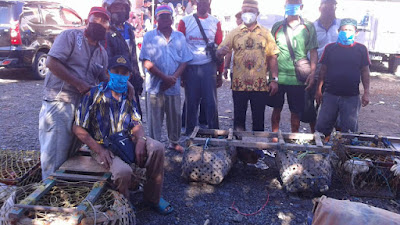 Cegah Corona, Kades Baringen Imbau Warga Terapkan Pola Hidup Sehat