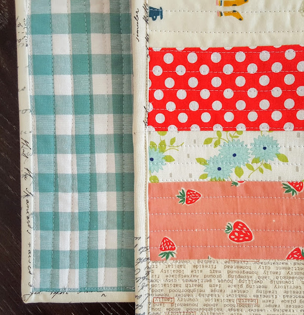 Scrappy Improv Runner by Heidi Staples of Fabric Mutt