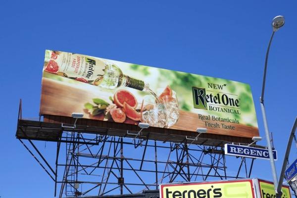 Ketel One Botanical vodka billboard