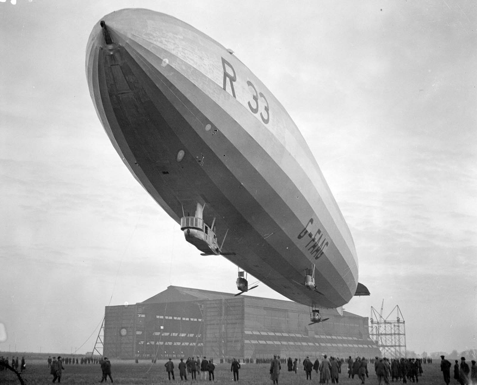 airship r33 pictures
