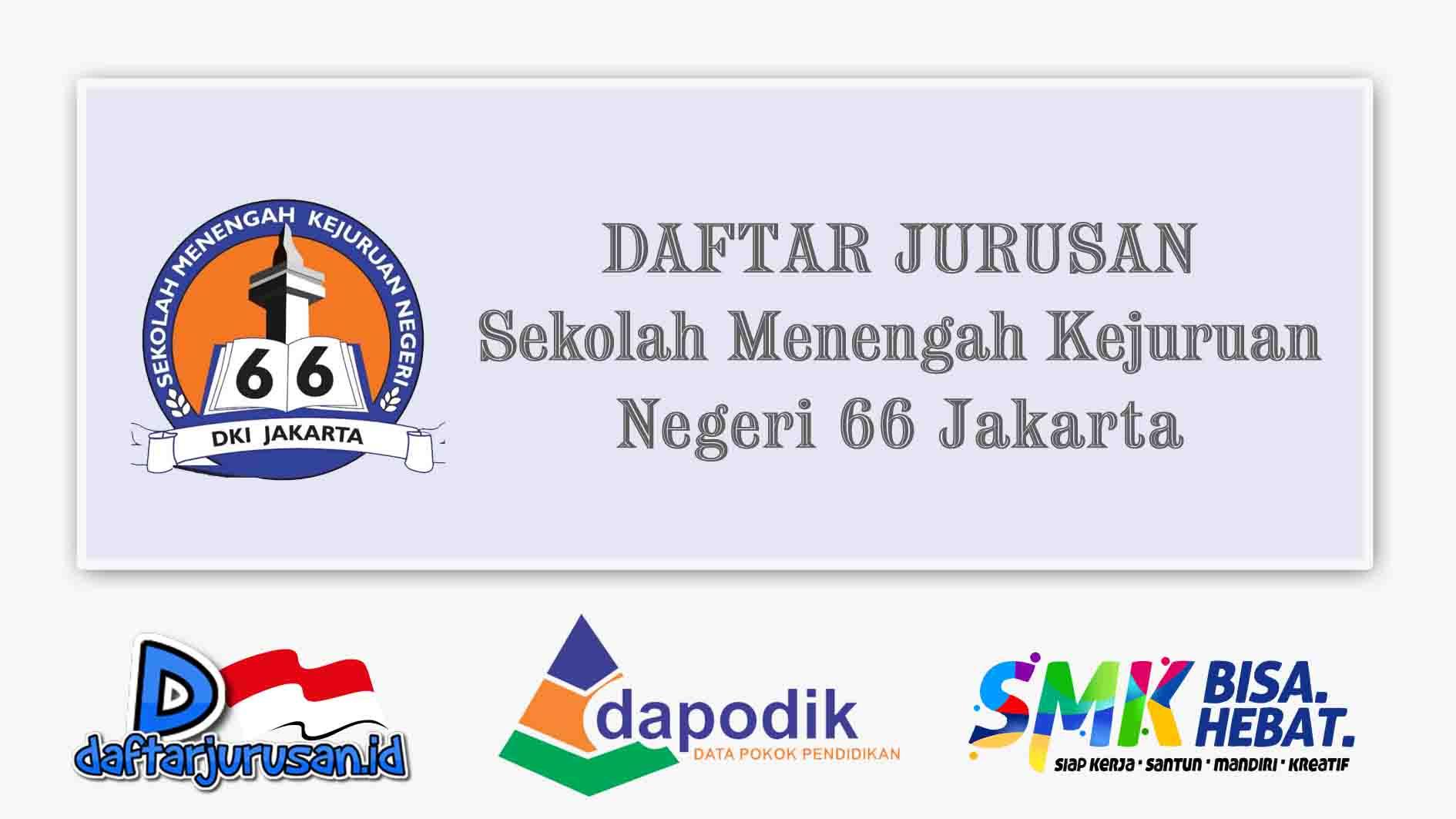 Daftar Jurusan SMK Negeri 66 Jakarta Timur
