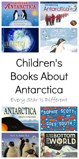 Children's  Books About Antarctica
