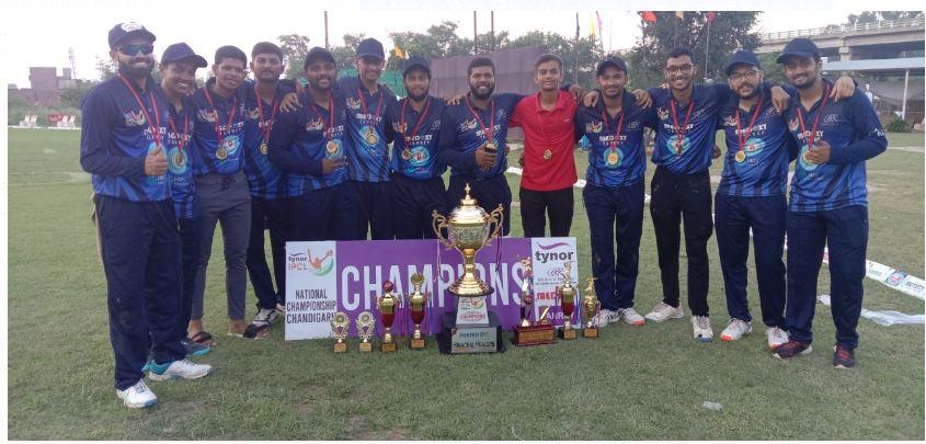 एचपीसीएल राष्ट्रीय क्रिकेट लीग गुजरात के 'छोकरों' ने जीती क्रिकेट लीग