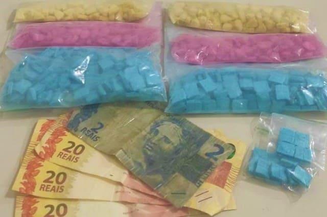 Esquadrão Falcão apreende 603 comprimidos de ecstasy, em Vitória da Conquista