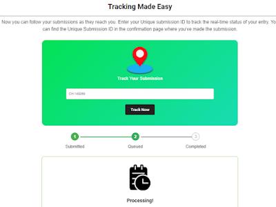 techlacarte.com tracking page