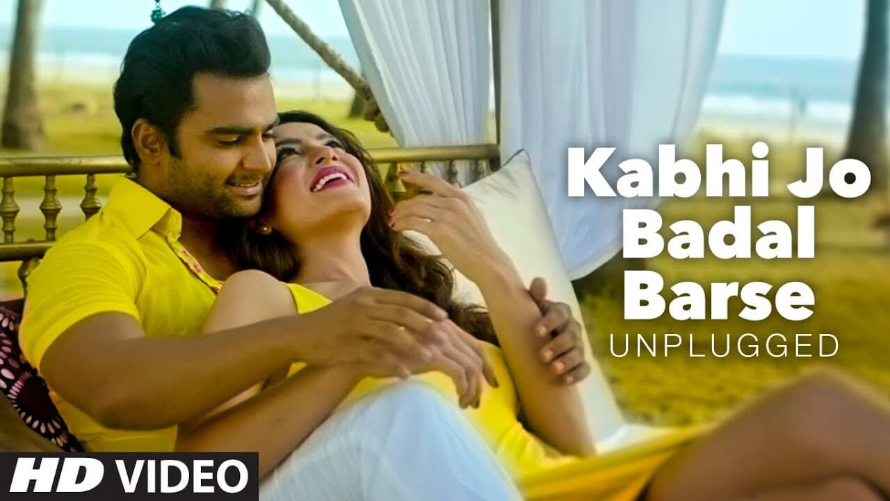 kabhi jo badal barse lyrics in hindi