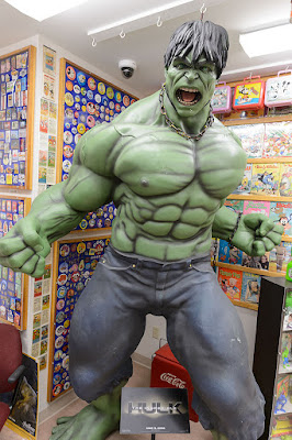 The Hulk Rages at the Barker Museum