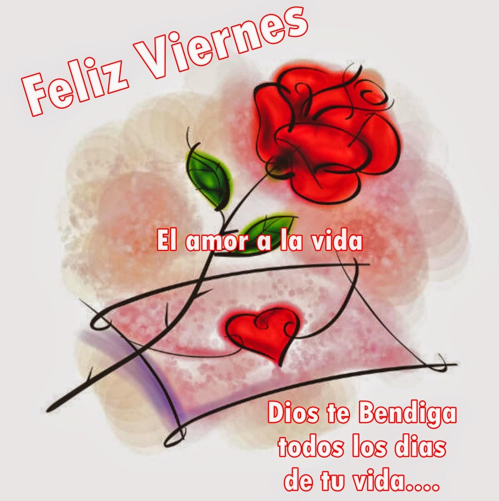 Imagenes con frases de feliz Viernes feliz viernes amor mensajes de feliz viernes