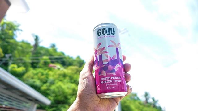 goju white peach juice