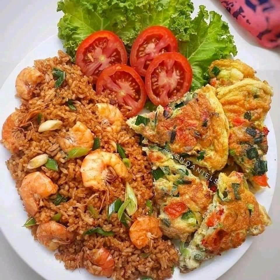 Resep Cara Membuat Nasi Goreng Telur Dadar Dan Ikan Asin