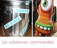 substances controversées