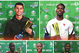 Man of the Match winners at the Euros so far.