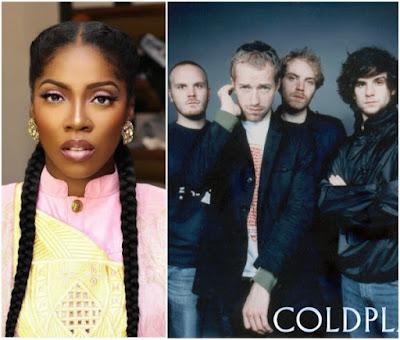 wp 1506180413828 - ENTERTAINMENT: British Rock Band, Coldplay acknowledges Tiwa Savage's latest EP, Sugarcane