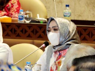 Soroti ketimpangan anggaran di Kementerian PU PR, Hj Sri Wahyuni berikan solusi ditengah Pandemi