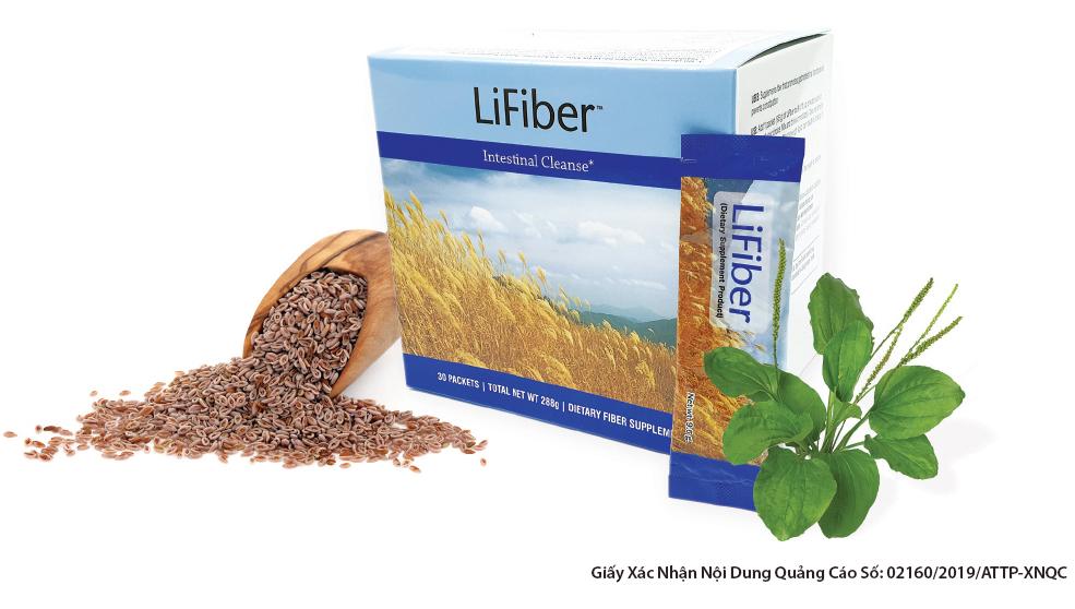 LiFiber | Bổ sung chất xơ, thải độc đại tràng, ngừa táo bón