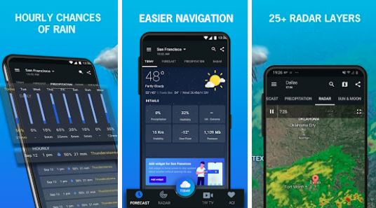 1Weather, the Most Complete App