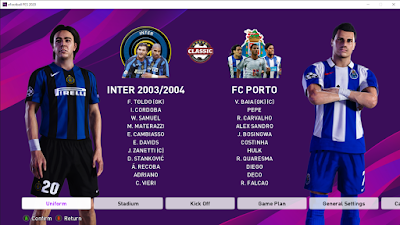PES 2020 AIO CLASSIC PATCH VOL.4 Datapack 8.0 by Andri Mod