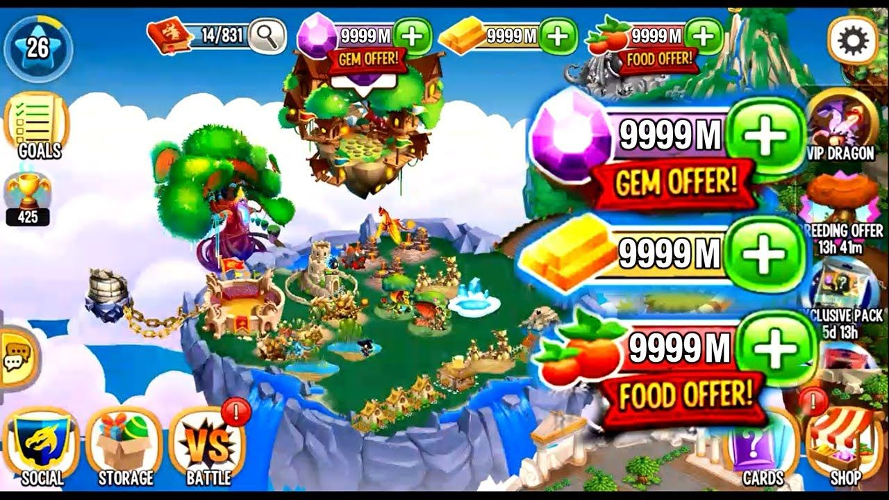 Claim Dragon City Unlimited Coins For Free! Working [18 Oct 2020]