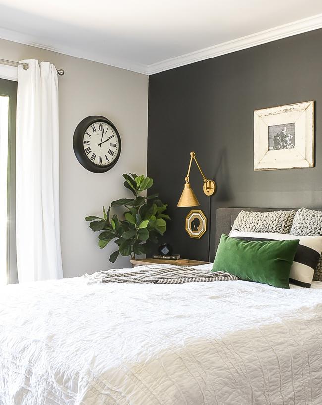 Make your bed, modern farmhouse bedroom decor