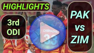 PAK vs ZIM 3rd ODI 2020