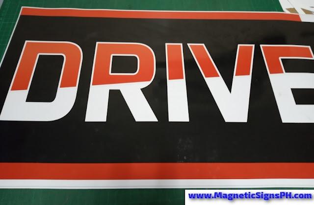 Drive Car Door Magnet