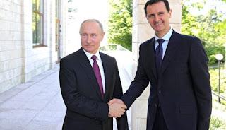 Asad: Pangkalan Rusia Di Suriah Menjaga Keseimbangan Kekuatan Wilayah