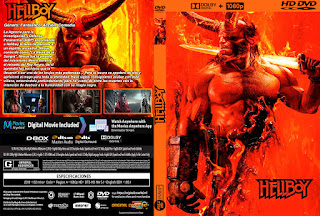 HELLBOY – 2019 [COVER – DVD]