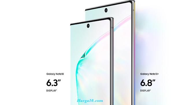 Harga dan Spesifikasi Samsung Galaxy Note 10
