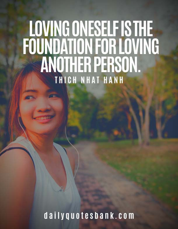 quotes about loving yourself first