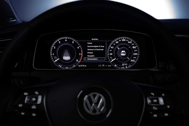 VW Golf 2017 - Active Info Display - o cockpit digital completo