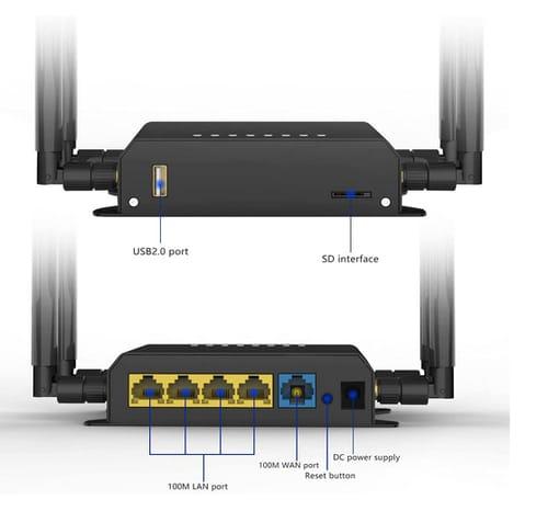 Zbtlink WE826-T2 300 Mbps WiFi Router