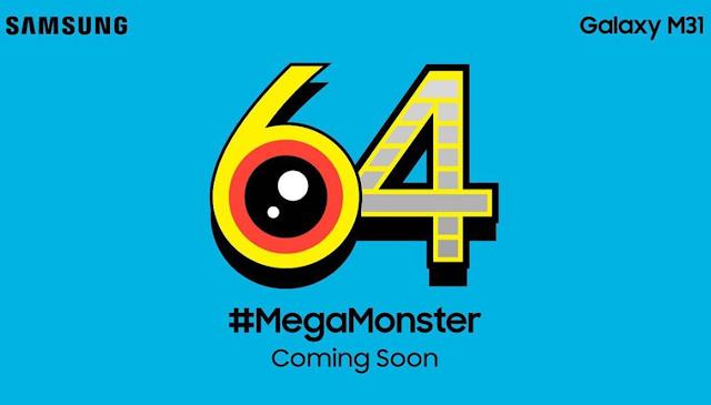 Samsung Perkenalkan Galaxy M31 Bakal Pakai Kamera 64MP