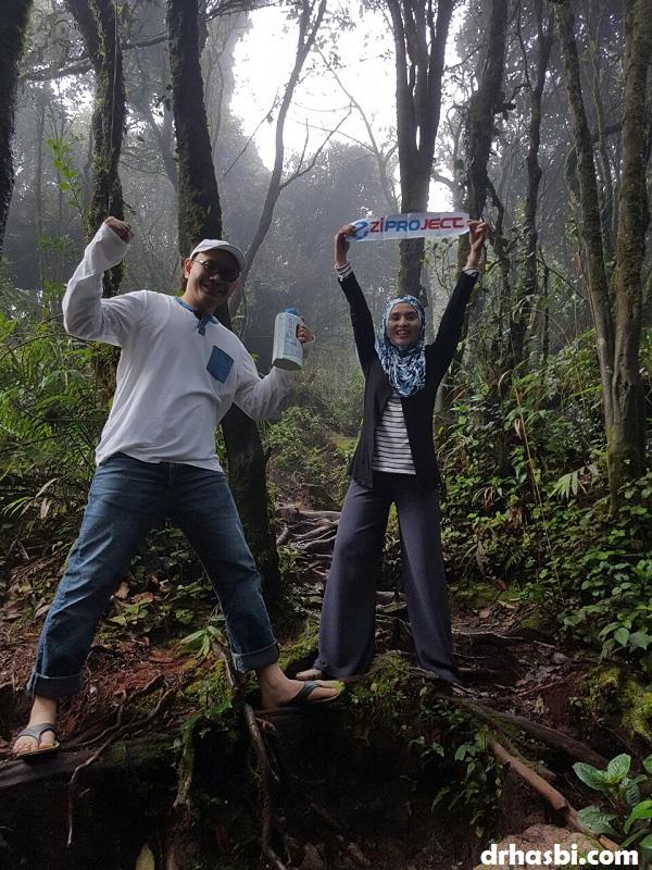 EziProject menakluk Gunung Brinchang Cameron