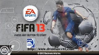 FIFA 13 Lite PSP Android