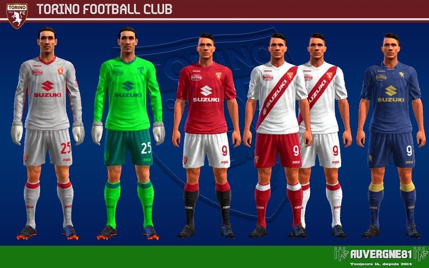 Kits Torino FC 2021-2022 For PES 2013