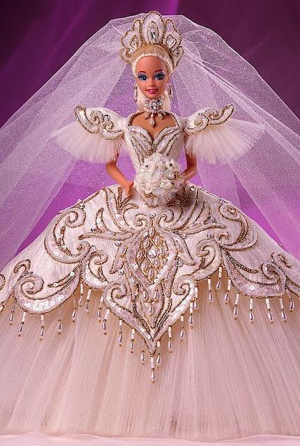 Vestidos de noiva para Barbie - Bridal dresses for barbie dolls - Para inspirar nossas criações 9