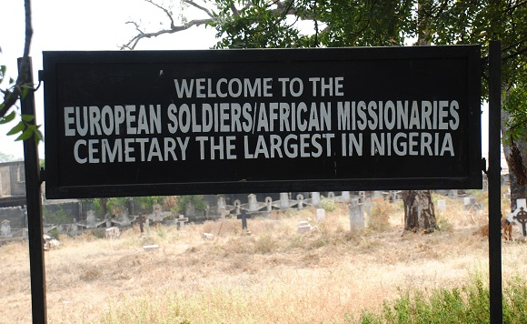 colonial master cemetery defaced lokoja