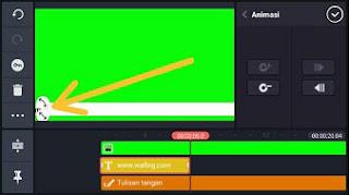 Cara Membuat Video Tulisan Berjalan Di Kinemaster Android