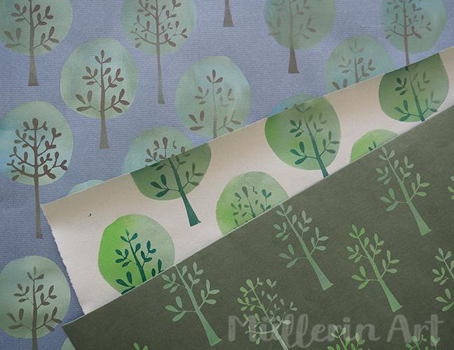 Baummuster nach ©muellerinart