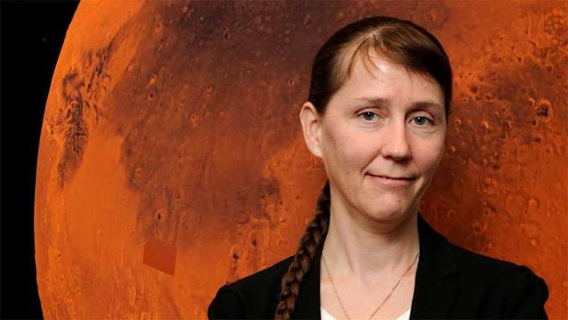 Catharine Conley - agente de proteção planetária da NASA - Paul E. Alers - NASA