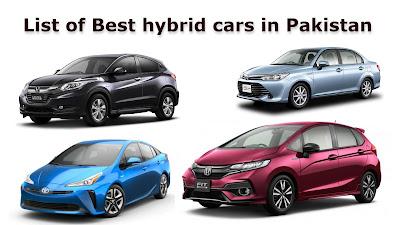 List of Best hybrid cars in Pakistan