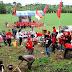 Peringati HUT Partai PDIP ke-47, Ketua DPC Karawang, Gelar Tanam Pohon di Sungai Citarum