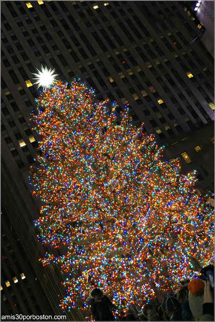 Árbol de Navidad Iluminado del Rockefeller Center, Nueva York