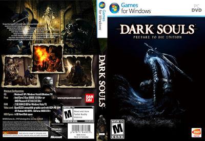 Jogo Dark Souls - Prepare to Die Edition PC DVD Capa