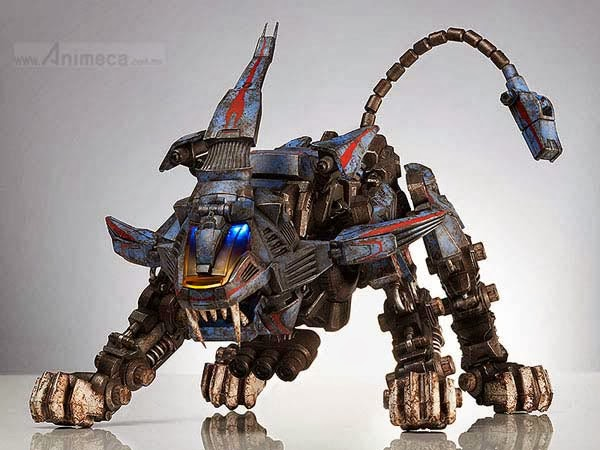 SHIELD LIGER FIGURE ZOIDS threezero