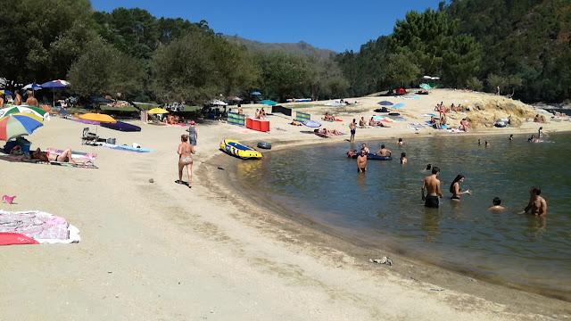 Praia Fluvial da Barca no Gerês