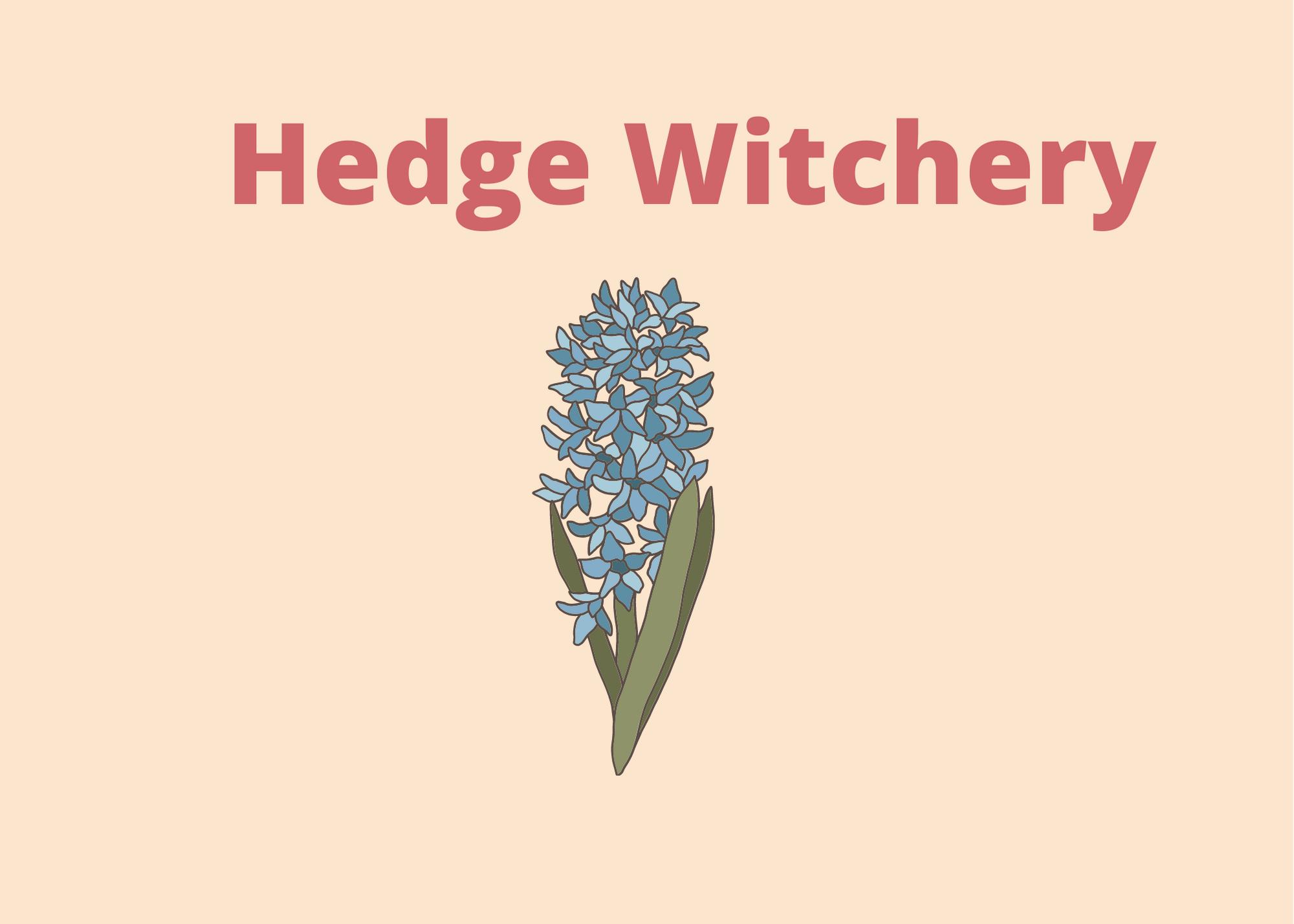 Hedge Witchery, herbal magic, herbal sachet, herbal charms, herbal spells, herbal remedies