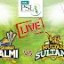 Peshawar Zalmi Vs Multan Sultans PSL 2018 Live Match - PSL 2018