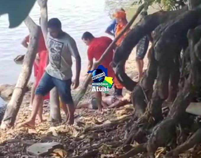 Jovem morre afogada no Rio Machado em Ji-Paraná