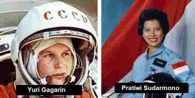 Yuri Gagarin dan Pratiwi